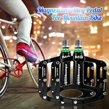 2PCS Mountain Bike Flat Pedal MTB Accessories Bicycle Clip Board Magnesium Alloy