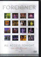 Foreigner-All Access Tonight Music DVD