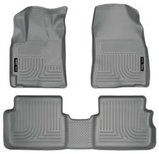 Husky Liners 2009-2013 Toyota Corolla and Matrix FWD Gray Floor Mat Set 98532
