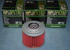 3 filtres à huile Hiflofiltro HF151 BMW F650 FUNDURO ST G 650 GS APRILIA PEGASO