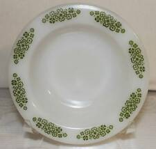 ANCHOR HOCKING SPRINGWOOD DESSERT FRUIT BOWL #1073 PACESETTERS GREEN  WHITE