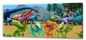 Dinosaur Train  Long canvas picture