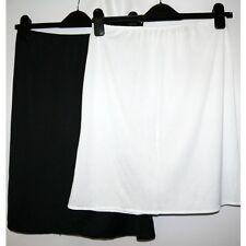 New ex M&S Plain Waist Slip Slinky 19 & 23 & 26 & 29 inches Underskirt Half Slip