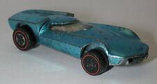 Redline Hotwheels Light Blue 1969 Turbofire