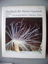 Handbuch Meeres-Aquaristik Seewasserfische Niedere Tiere 1979 Aquarium Bd.III