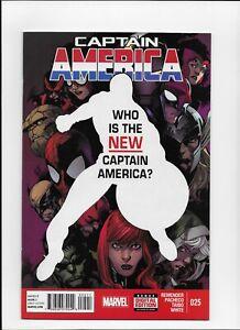Captain America # 25 Sam Wilson N mint 1st print Marvel Now Comics