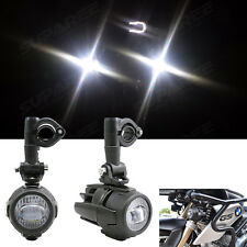 Cree LED Auxiliary Fog Light Assemblie Safety Lamp For BMW R1200GS ADV