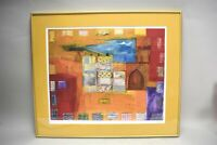 Smadar Livne Lithograph Art Print Signed 34/395 Limited Edition Abstract
