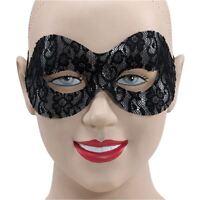 Masquerade Masked Ball Eye Mask Italian Venitian Carnival Curved Lace Naomi