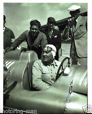 Photo Hans Stuck D Type Auto Union 1936 1937 très rare MOTORING-man photo
