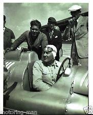 Fotografia Bernd Rosemeyer Auto Union 1936 1937 MOLTO RARO AUTOMOBILISMO FOTO-Man