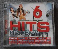 M6 Hits Hiver 2011, rihanna shakira usher katy perry bob sinclar ect ...., 2CD