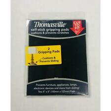 "Thomasville 2 Self-Stick Gripping Pads cushion prevent sliding 4 x 5"""
