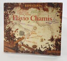 Especiaria Flavio Chamis CD 2006 Sarpul Producoes Artistas Ltda Import  Signed