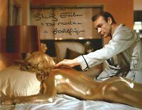 James Bond Goldfinger Shirley Eaton signed authentic autographed photo AK1378