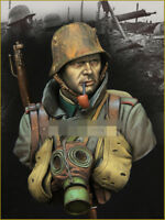 1/10 resin figures bust model kit WW I assault force soldier bust X15 resin kit