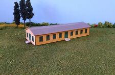 N Scale Laser Cut Army Barracks Building Kit