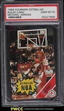 1988 Fournier Estrellas Rules Card Michael Jordan PSA 10 GEM MINT