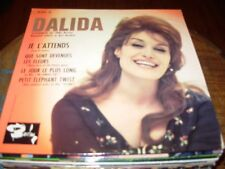 "DALIDA je l'attends ( world music ) 7""/45 picture sleeve"