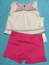 Lucky Brand Baby Girl Two-Piece Outfit Size 12 Month
