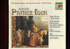 BORODIN- PRINCE IGOR ghiaurov,evstatieva,tchakarov  3CD NUOVO SIGILLATO