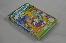 Die Schlümpfe NES Spiel CIB (neuwertig) #1266