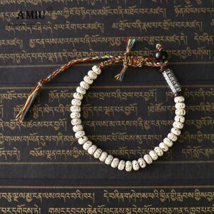 Tibetan Buddhist Braided Lucky Knot Bracelet Natural Beads Handmade Men Gifts