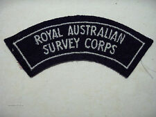 INSIGNE BADGE AUSTRALIE ROYAL AUSTRALIAN SURVEY CORPS