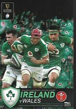 Ireland v Wales Six Nations Official Programme 8th February 2020