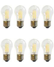 (8)-Bulbs LED A15 40W 120V Refrigerator or Freezer Light Bulb E26