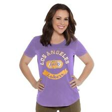 Too Cute! New Los Angeles Lakers Womens Alysa Milano Top Shirt Size L  ___S121