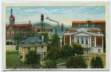 Goodwill Theatre Theater Fire Station Johnson City New York postcard
