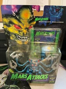 Mars Attacks Doom Robot Action Figure with Mission Disk