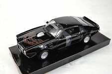PONTIAC FIREBIRD TRANS AM 1973 MOTORMAX 73243 1:24 NEW MODEL BLACK