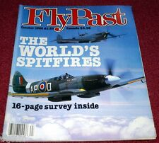 Flypast 1986 October Annan,KLM,Spitfire,Shackleton