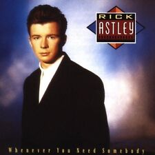 Rick Astley Whenever you need somebody (1987) [CD]
