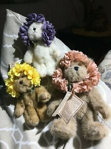 VINTAGE BOYD BEARS MRS.POTTER LIL`SPROUTS(3)