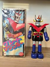 Bullmark Great Mazinger (グレートマジンガ ー) Tin Toy Wind Up Zenmai Popy 1970's