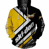 BM-W MOTORRAD Men Zip up Hoodie Shirt-Top Season Gift 0259-US Size
