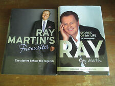 Ray Martin's Favourites + Stories of my Life (SIGNED) The Autobigraphy HCDJ