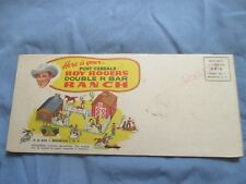 1955 Official Roy Rogers Double R Bar Ranch Post Cereals Premium - Unopened