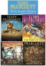 Discworld Novel Series 6 Terry Pratchett Collection 5 Books Set (26-30) LastHero