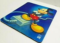 Disney Interactive Mickey Mouse Pad Vintage Retro Rubber Computer Mouse Mat Pad