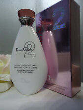 Giftwrapped DIOR Addict 2 200ml Rare Shimmering Perfumed Body Moisturizer NewBox