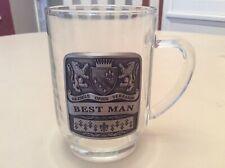 "Very Rare ""Maximus Orbis Terrarum� Best Man/Wedding Drinking Glass/Mug!"