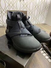 "Nike Lebron soldier XII SFG ""Blackout"" Size 8.5"