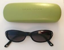 Sigrid Olsen Onyx Black SO209SA Sunglasses & Case