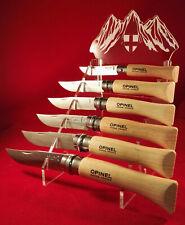 Superbe Présentoir plexi pour 6 couteaux de Savoie réf.C6S
