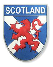 Scottish Iconic Saltire Lion Rampant Scotland Flag Shield PU Kitchen Magnet