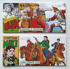 IL GRANDE BLEK 1 + CAPITAN MIKI 1 DARDO 1994 striscia